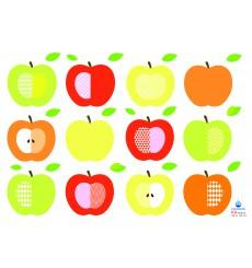 Sticker série de pommes