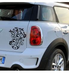 Sticker Arabesque fleurs