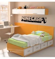 Sticker Titre Minecraft