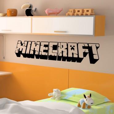 Sticker Titre Minecraft - dola & stickers muraux - fanastick.com