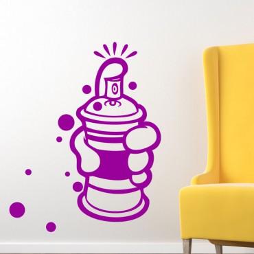 Sticker Bomb spray - stickers graffiti & stickers muraux - fanastick.com