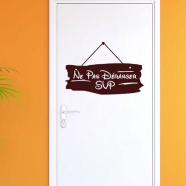 Sticker Ne pas déranger SVP - stickers porte & stickers deco - fanastick.com