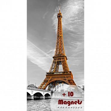 Sticker magnétique Tour Eiffel - stickers paris & stickers muraux - fanastick.com