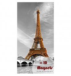 Sticker magnétique Tour Eiffel