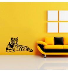 Sticker Tigre allongé