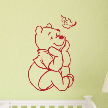 Sticker Winnie l'ourson - stickers animaux enfant & stickers enfant - fanastick.com