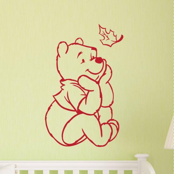 sticker winnie l 39 ourson stickers animaux enfant stickers enfant. Black Bedroom Furniture Sets. Home Design Ideas