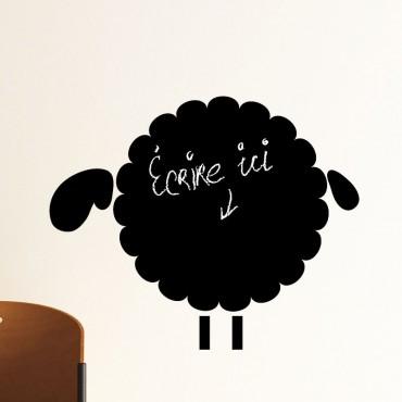 Sticker ardoise moutons 1 - stickers ardoise & stickers muraux - fanastick.com