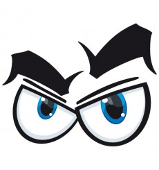 Sticker Yeux cartoon 5