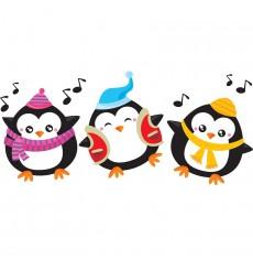 Sticker Pingouins joyeux