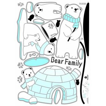 Sticker ours - stickers animaux enfant & stickers enfant - fanastick.com