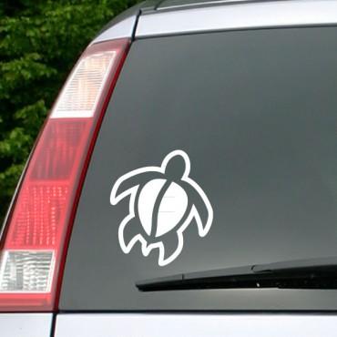 Sticker de tortue 2 - stickers auto & stickers muraux - fanastick.com