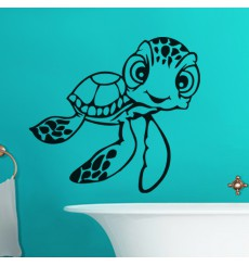 Sticker Tortue aux grands yeux