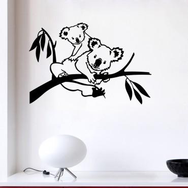 Sticker Famille koala - stickers animaux & stickers muraux - fanastick.com