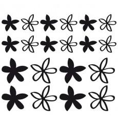 Sticker Fleurs modernes