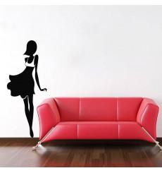 Sticker Femme moderne