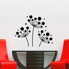 Sticker Fleurs de pissenlit