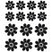 Sticker Fleurs pétales - stickers fleurs & stickers muraux - fanastick.com