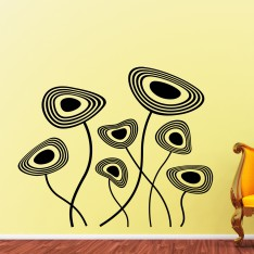 Sticker Fleurs d'imagination