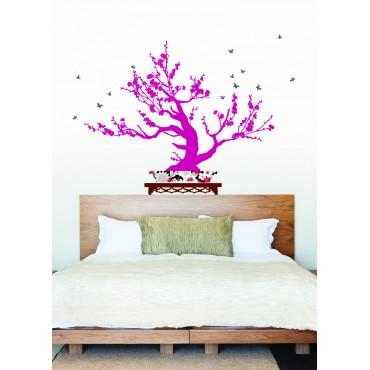 Sticker Arbre bonsai - stickers arbre & stickers muraux - fanastick.com