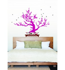 Sticker Arbre bonsai