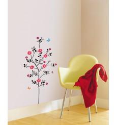 Sticker arbre en fleur