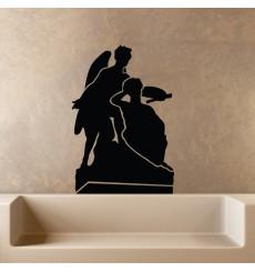 Sticker Sculpture d'anges