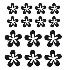 Sticker Fleurs seventies