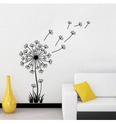 Sticker Fleur pissenlit