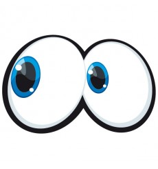Sticker Yeux cartoon 7