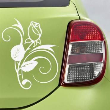 Sticker Rose design - stickers fleurs & stickers muraux - fanastick.com