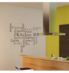 Sticker Cuisine multi-langue