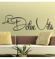 Sticker La Dolce Vita