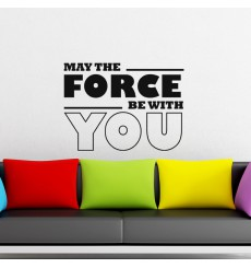 Sticker May the force be with you