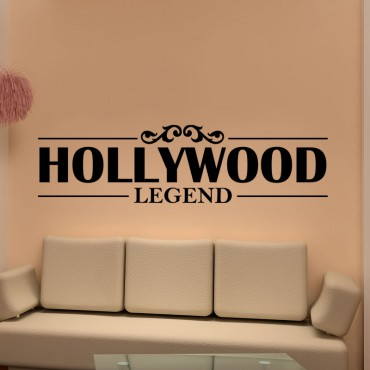 Sticker Hollywood legend - stickers citations & stickers muraux - fanastick.com