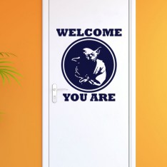 Sticker Welcome you are