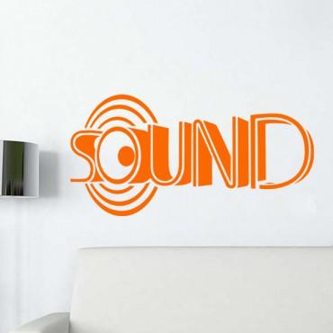 Sticker Design Sound - stickers citations & stickers muraux - fanastick.com