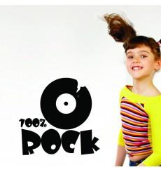 Sticker 100% rock
