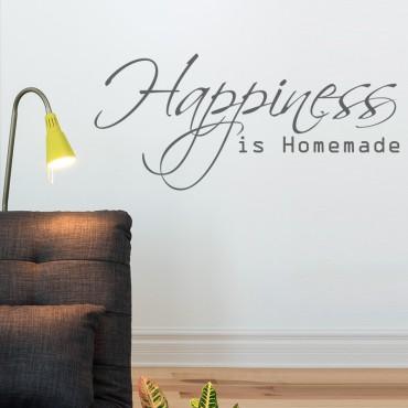 Sticker Happiness - stickers citations & stickers muraux - fanastick.com