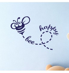 Sticker Bee happy