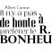 Sticker Le bonheur d'après A Camus - stickers citations & stickers muraux - fanastick.com