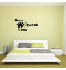 Sticker Design Home sweet home