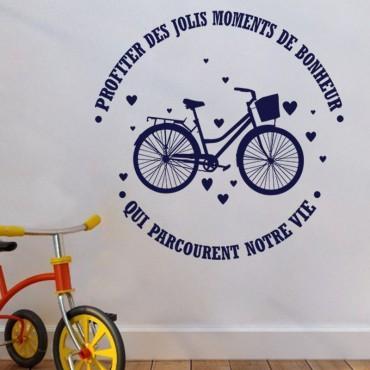 Sticker Profitez des lois moments de bonheur - stickers citations & stickers muraux - fanastick.com