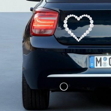 Sticker Coeur diamants - stickers coeur & stickers muraux - fanastick.com