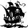 Sticker navire pirate - stickers pirates & stickers enfant - fanastick.com