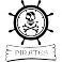 Sticker Emblème pirate - stickers pirates & stickers enfant - fanastick.com