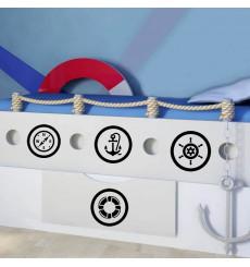 Sticker Kit Voyageur de mer
