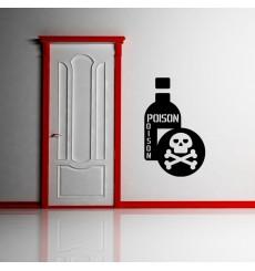 Sticker Bouteille de poison