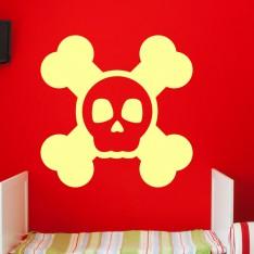 Sticker Design tête de mort