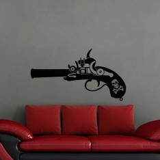 Sticker Pistolet d'un pirate